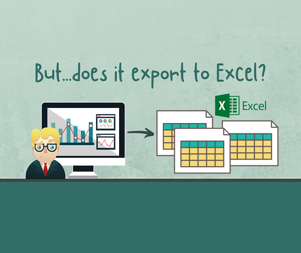 Social - But...does it export to Excel